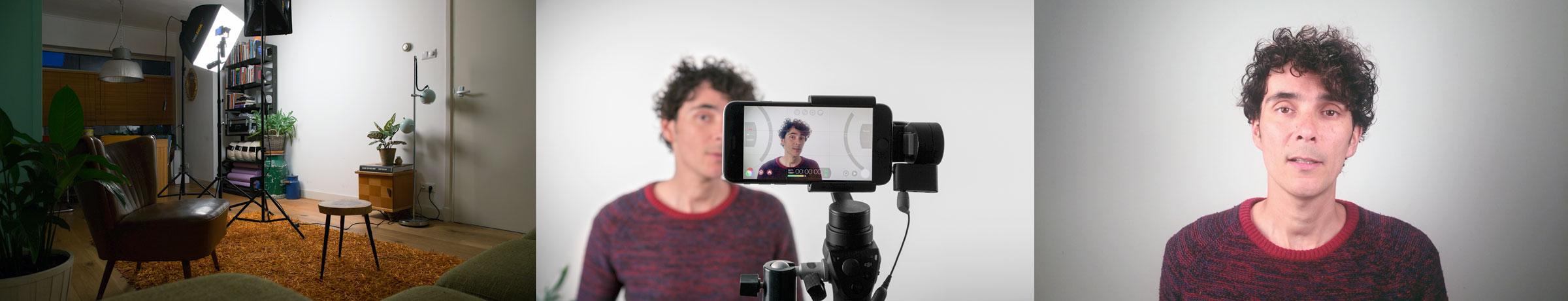 Cursus filmen smartphone