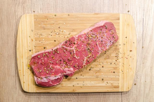 Rode lappen vlees